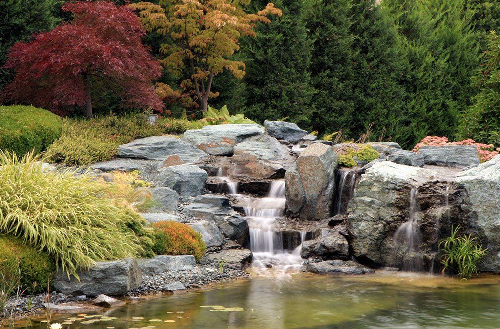 A tervezett kert természetes kényelme